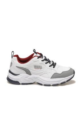 US Polo Assn FOX Beyaz Kadın Sneaker Ayakkabı 100604831 1