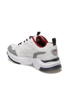 US Polo Assn FOX Beyaz Kadın Sneaker Ayakkabı 100604831 2