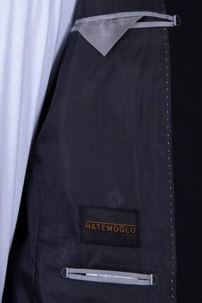 Hatemoğlu Erkek Siyah Slim Fit Takım Elbise 2