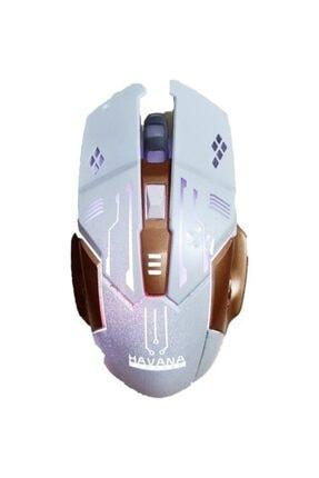 Nivagatore Gaming Işıklı Oyuncu Klavye Mouse Seti Mekanik His Rgbli 3