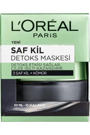 L'Oreal Paris Saf Kil Detoks Maskesi 50 Ml&şeker Peelingi Siyah Nokta Karşıtı – Kivi Tohumu 1