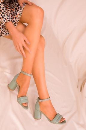 Soho Exclusive Mınt Yeşil Kadın Klasik Topuklu Ayakkabı 15808 0