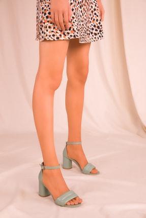 Soho Exclusive Mınt Yeşil Kadın Klasik Topuklu Ayakkabı 15808 1