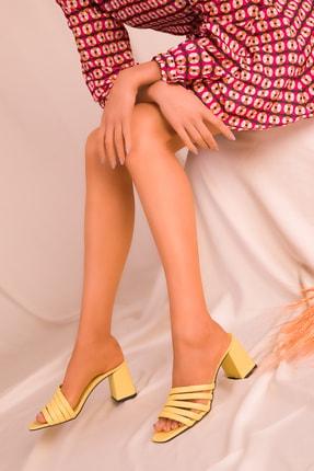 Soho Exclusive Sarı Kadın Terlik 15815 2
