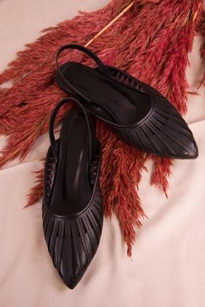 Soho Exclusive Siyah Kadın Sandalet 15027 1