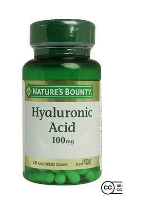 Natures Bounty Hyaluronic Acid 100 Mg 30 Kapsül 0
