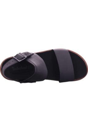 Timberland Erkek Siyah Amalfı Vıbes 2band Sandalet 4