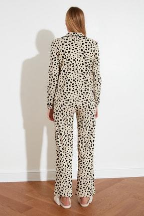 TRENDYOLMİLLA Animal Baskılı Örme Pijama Takımı THMAW21PT0489 4