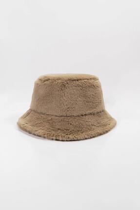 Y-London 12839 Bej Rengi Bucket Şapka 2