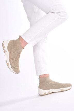 Marjin Kadın Bej Çorap Spor Bot Befita 4