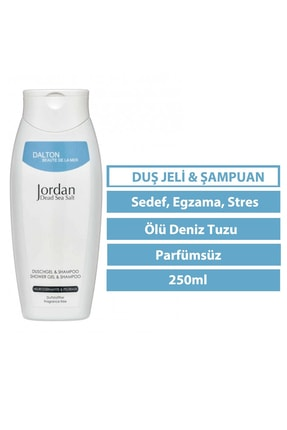 DALTON MARİNE COSMETİCS Jordan Dead Sea Salt Atopik Dermatit Sedef Egzama Stres Duş Jeli & Şampuan 0