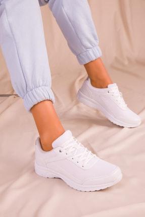 Soho Exclusive Kadın Beyaz Sneaker 15930 1