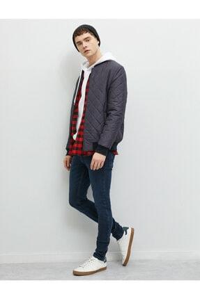 Koton Erkek Mavi Skinny Fit Jean Pantolon 1