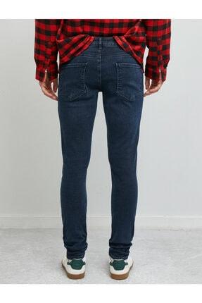 Koton Erkek Mavi Skinny Fit Jean Pantolon 3
