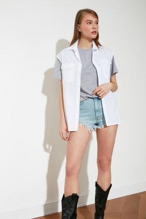 Picture of Beyaz Kolsuz Gömlek TWOSS21GO0275