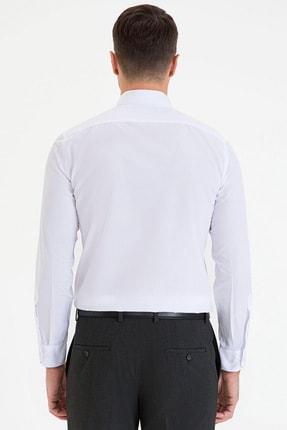 Pierre Cardin Erkek Beyaz Slim Fit Basic Gömlek G021GL004.000.1214552 2