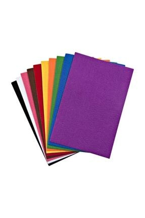 nova color Yapışkanlı Keçe 10 Renk 20x30 Cm 0