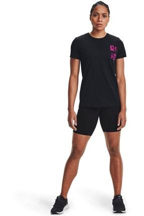 Under Armour Kadın Spor T-Shirt - Live Repeat HB SSC - 1365136-001 2
