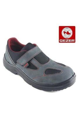 Gezer 1453 İş Güvenlik Ayakkabısı  Yazlık Gri Süet  43 no 0