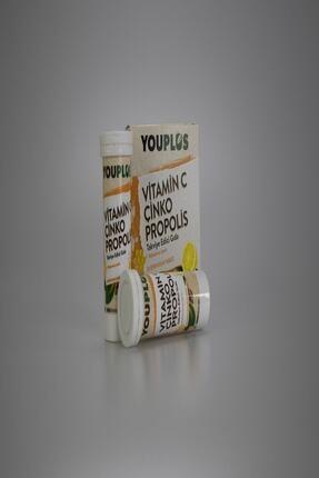 Youplus Vitamin C Çinko Propolis 20 Efervesan Tablet 3