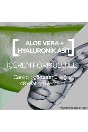 Garnier Hyaluronik Aloe Jel + Aloe Temizleme Jeli + Aloe Tonik 4