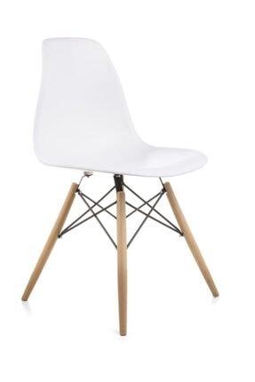 Dorcia Home Mona Beyaz Sandalye - Cafe Balkon Mutfak Sandalyesi 0