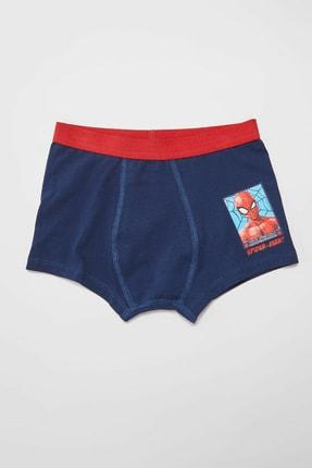 LC Waikiki Spiderman Erkek Çocuk Gri Baskılı Lrw Boxer 3