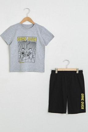 LC Waikiki Erkek Çocuk Yeni Siyah Cvl Pijama Takımı 0