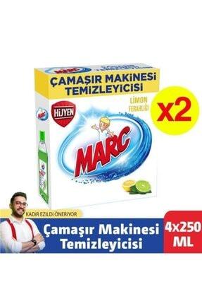 Marc Çamaşır Makinesi Temizleyici Limon Ferahlığı 4x250 Ml 0