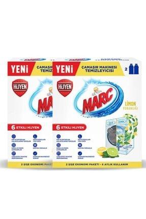 Marc Çamaşır Makinesi Temizleyici Limon Ferahlığı 4x250 Ml 1