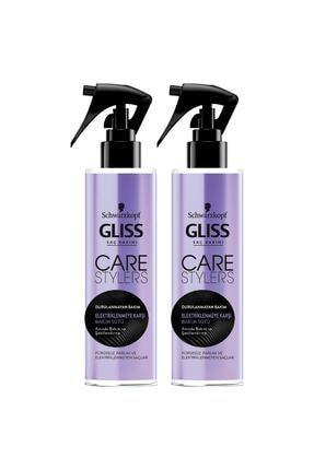 Gliss Care Stylers Elektriklenmeye Karşı Saç Bakım Sütü 150 ML 2'li 1