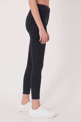 Addax Kadın Füme Yüksek Bel Pantolon Pn10915 - G8Pnn Adx-0000013630 4