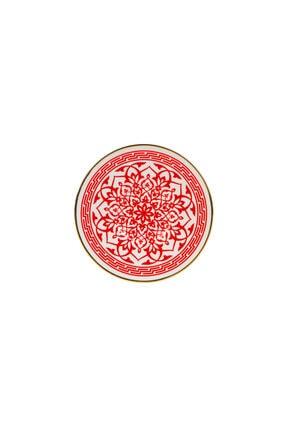 Karaca Ocha Kırmızı 12 Parça Çay Seti 3