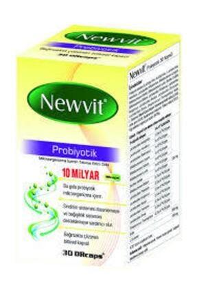 Newvit Probiyotik 30 Kapsül 0