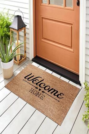 Evsebu Welcome Home Bej Dekoratif Kapı Önü Paspası 3