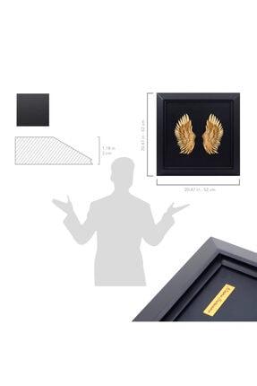 zekupp Melek Kanadı Çerçevesi | Metal Çerçeve Duvar Dekorasyonu | Kişiye Özel Tablolar 4