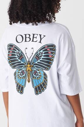 Addax Kadın Beyaz Baskılı T-Shirt P1029 - J1 Adx-0000022711 0
