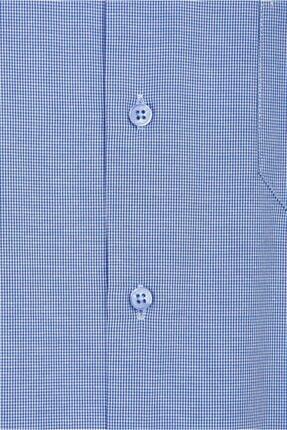 Kiğılı Regular Fit Kısa Kol Desenli Gömlek 2