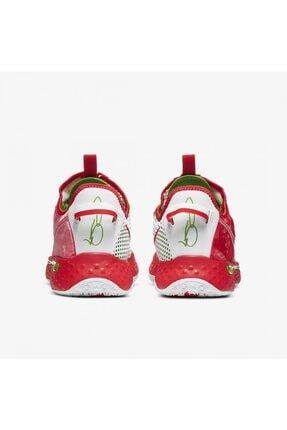 Nike Unisex Kırmızı Basketbol Ayakkabısı Pg4 3