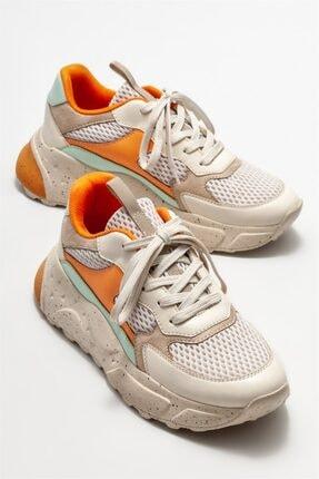 Elle Kadın Bej Spor Ayakkabı 1