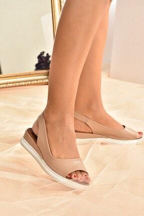 Fox Shoes Kadın Ten Rengi Sandalet K674300609 2