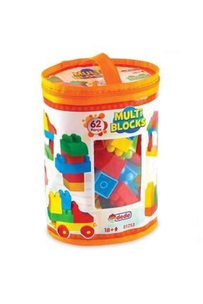 DEDE Multi Bloklar 62 Parça Lego Oyuncak 0