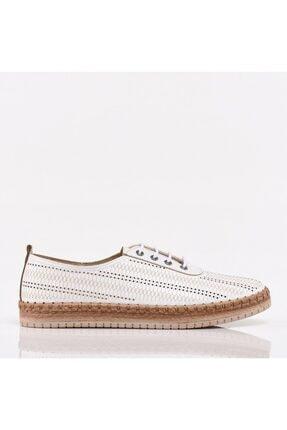 Hotiç Beyaz Yaya Kadın Günlük Ayakkabı 0