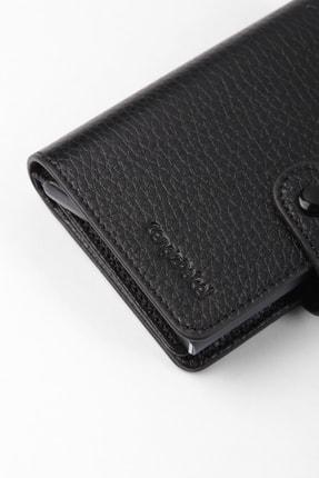Cengiz Pakel Gerçek Deri Mekanizmalı Siyah Kartlık-cüzdan 4