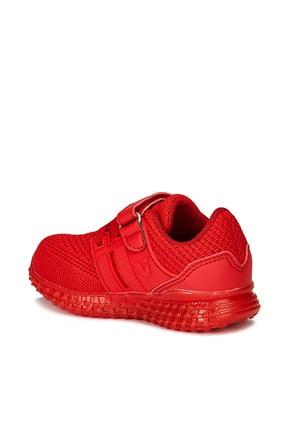 Vicco Flash Unisex Çocuk Kırmızı Spor Ayakkabı 3