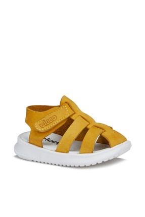 Vicco Pisa Unisex Ilk Adım Sarı Sandalet 0