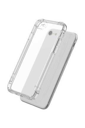 Ally Mobile Iphone Se2 (2020) Iphone 8-7 Anti-drop Darbe Emici Silikon Kılıf Shockproof Kılıf - Şeffaf 0