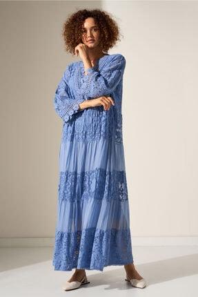 Camena Dantel Detaylı Elbise 2019070500211 0