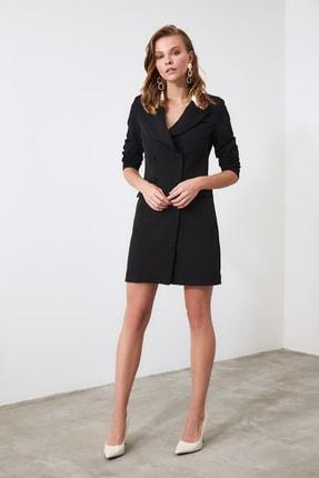TRENDYOLMİLLA Siyah Ceket Elbise TWOAW20EL0334 1