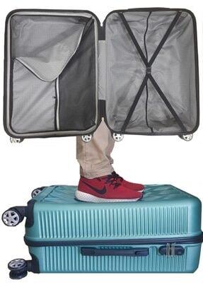 Qualex Universe Orta +kabin Boy Valiz Seti Antrasit 1
